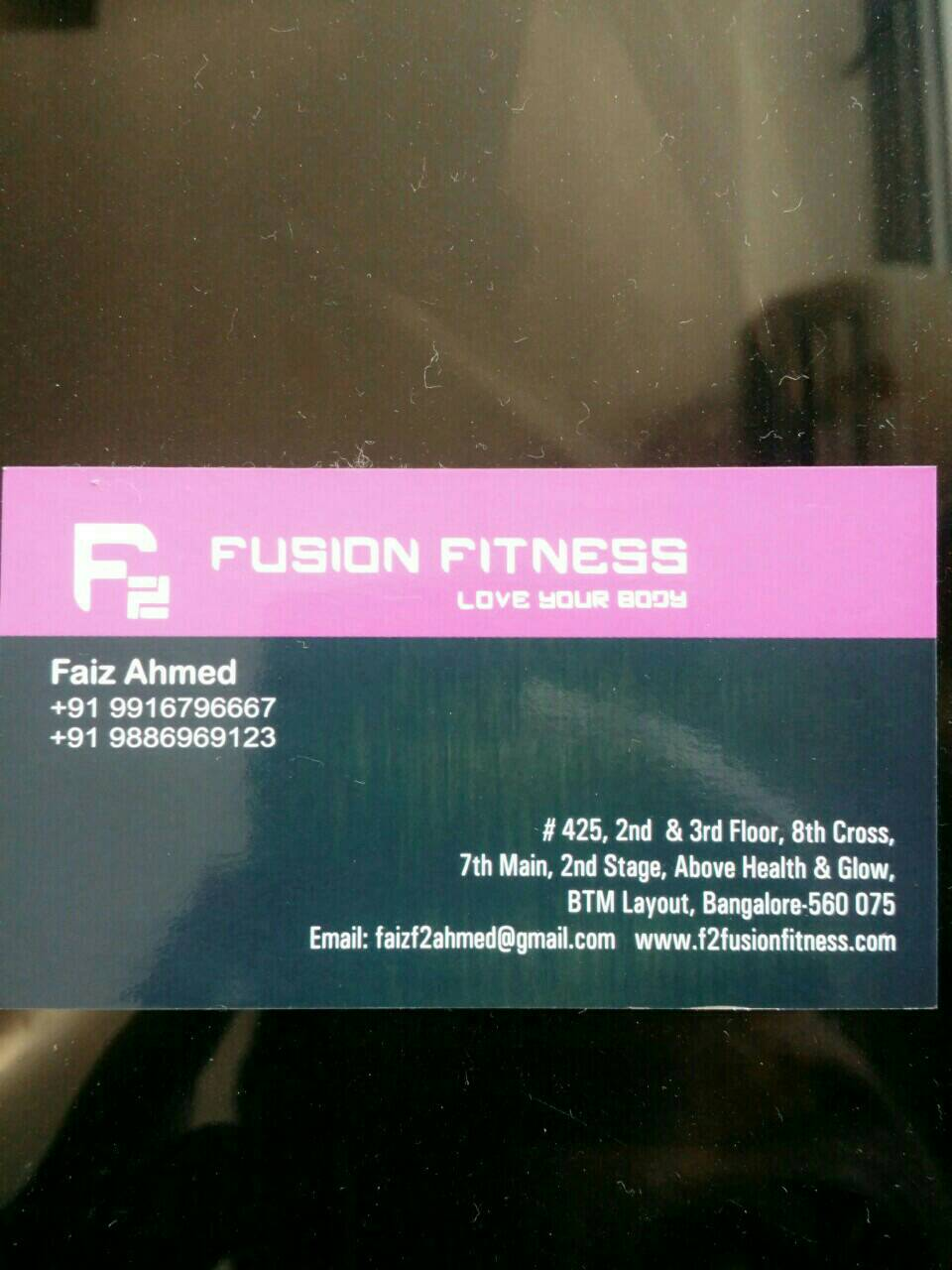 F2 Fusion Fitness