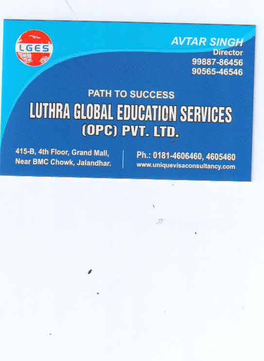 Luthra Global Education Services Pvt Ltd