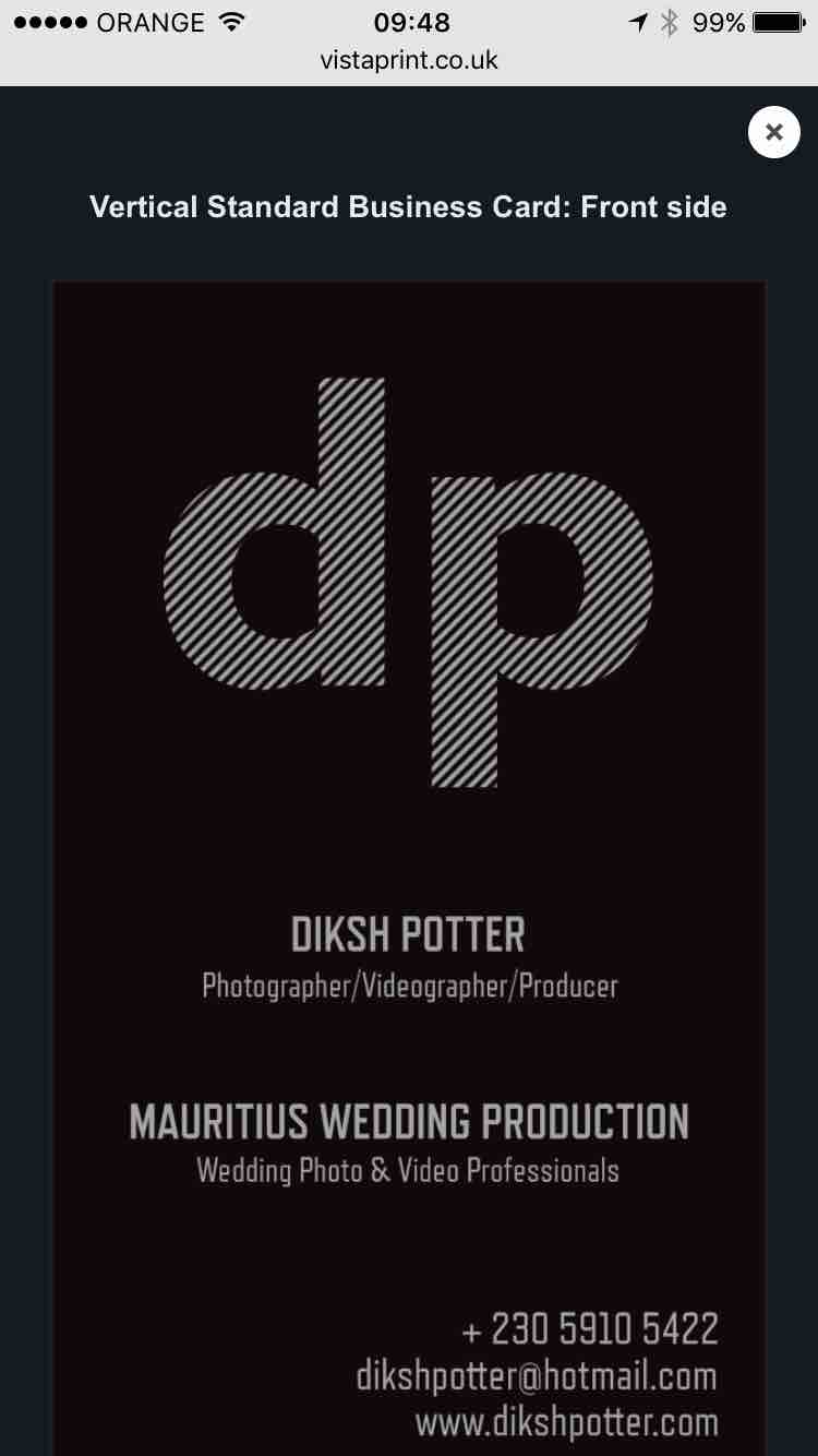 Mauritius Wedding Production: Photo & Video by Diksh Potter