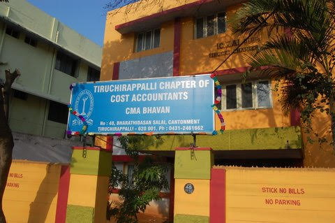 THE INSTITUTE OF COST ACCOUNTANTS OF INDIA-TIRUCHIRAPALLI CHAPTER