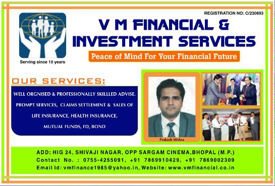 V M FINANCIAL & INVESTMENT SERVICES
