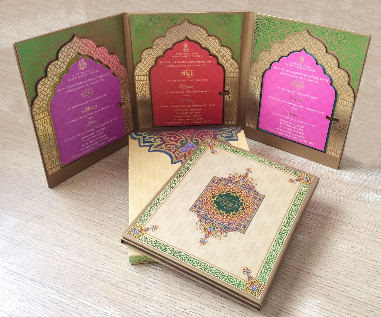 Colour Box |  Designer Wedding Card Manufacturers