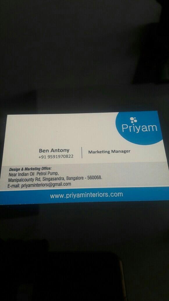 Priyam Interior