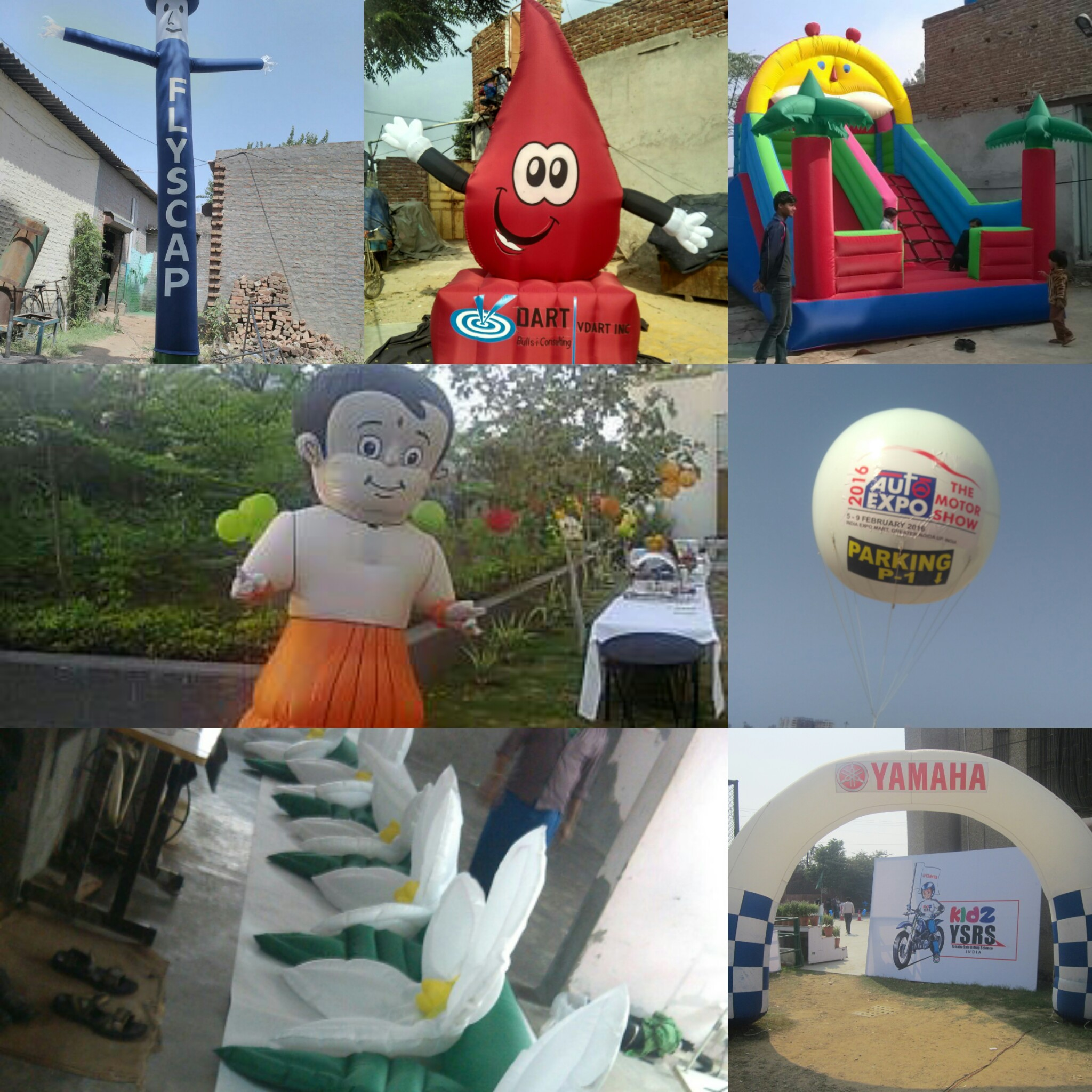 Laxmi Inflatables - Advertising Balloons