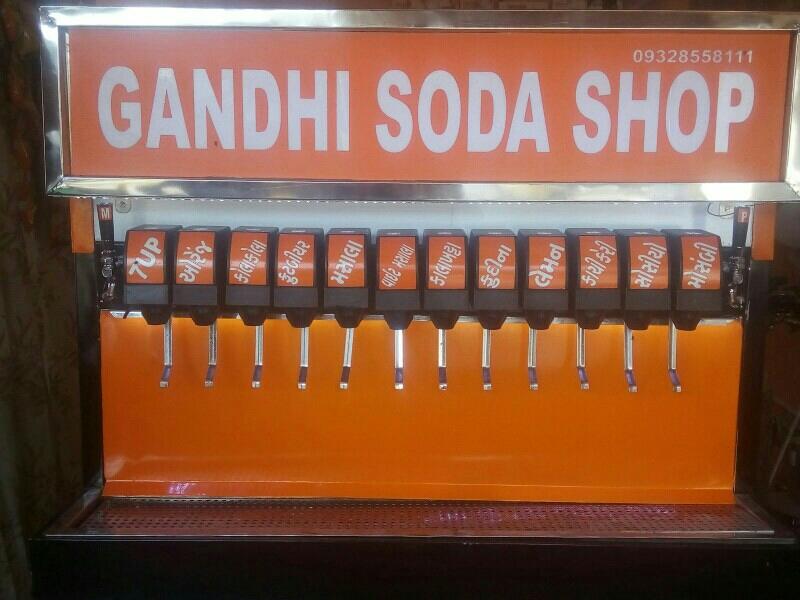 Gandhi Soda Machine