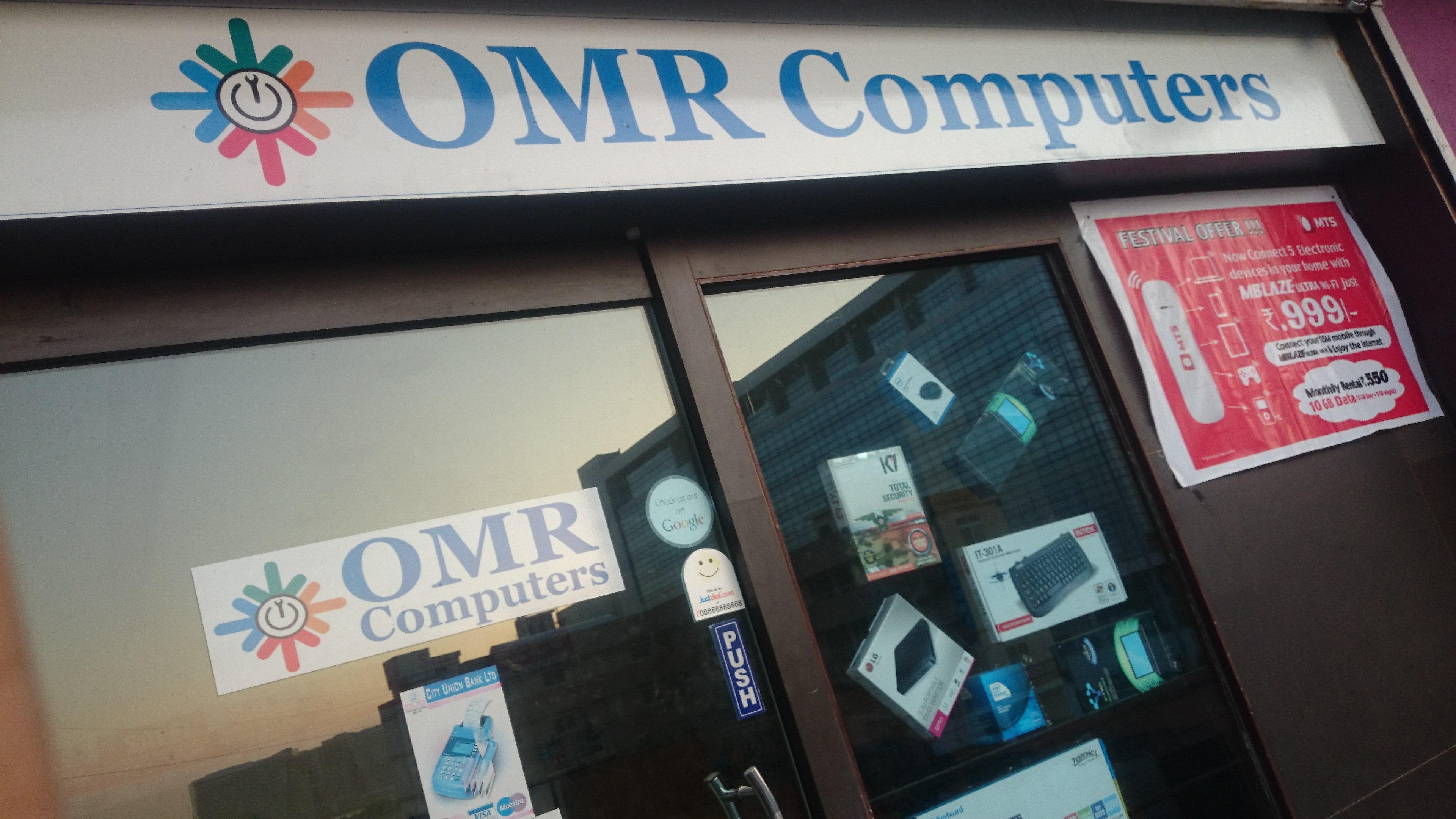OMR COMPUTERS