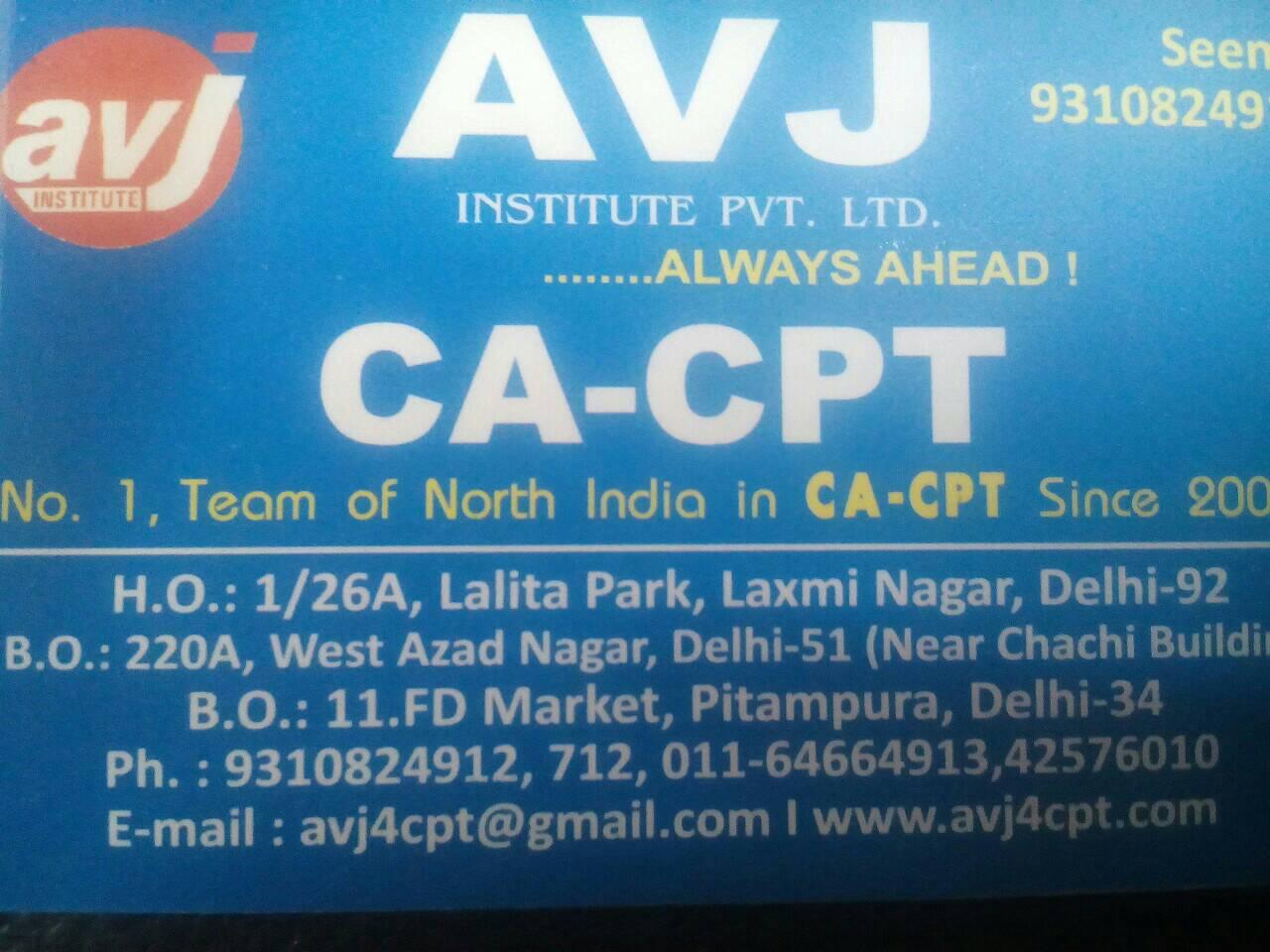 AVJ Institute