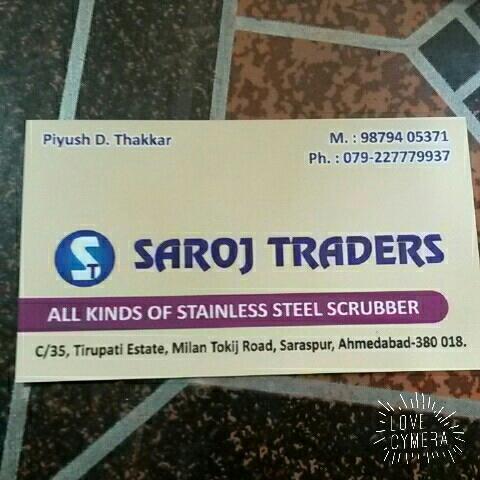 SAROJ TRADERS AHMEDABAD