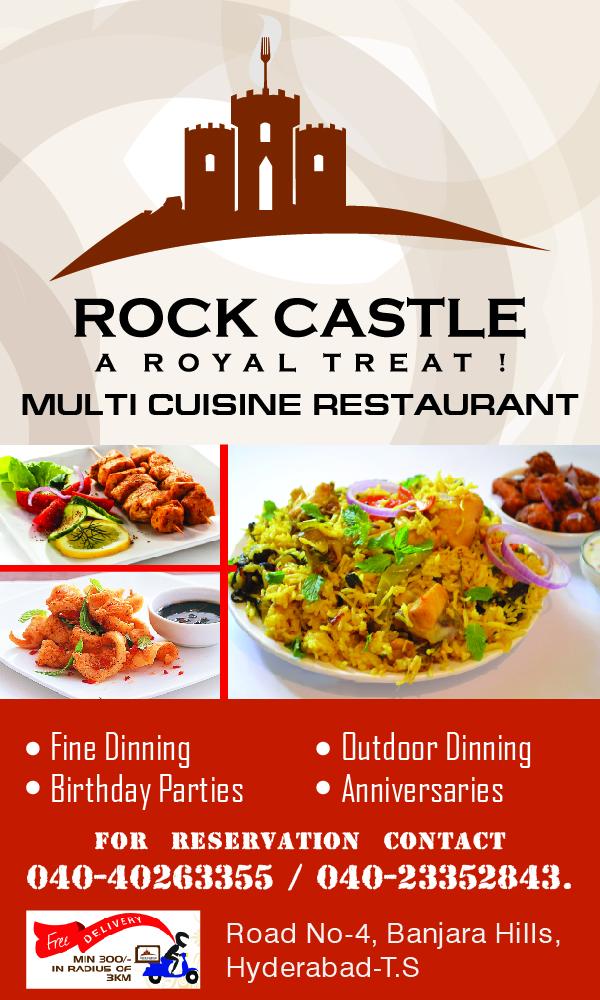 Rock Castle Restaurant - A Royal Treat