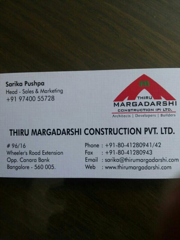 THIRU MARGADARSHI CONSTRUCTION