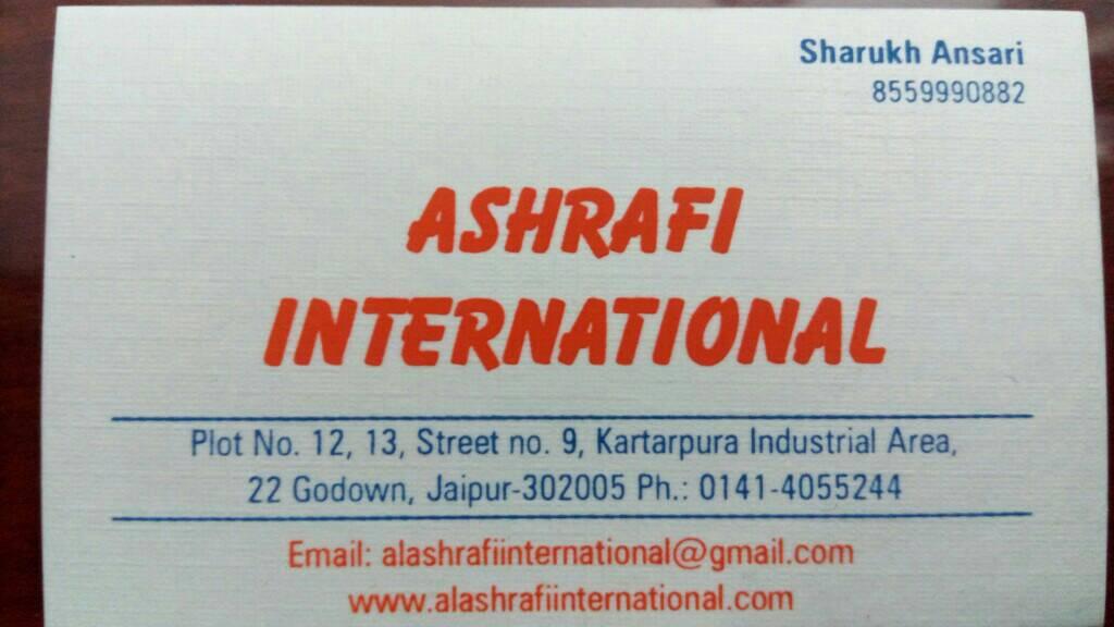 Ashrafi International
