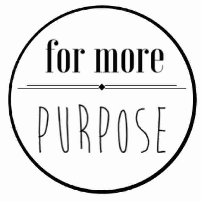For More Purpose