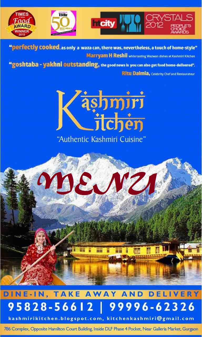 Kashmiri Kitchen - Kashmiri Foods Gurgaon
