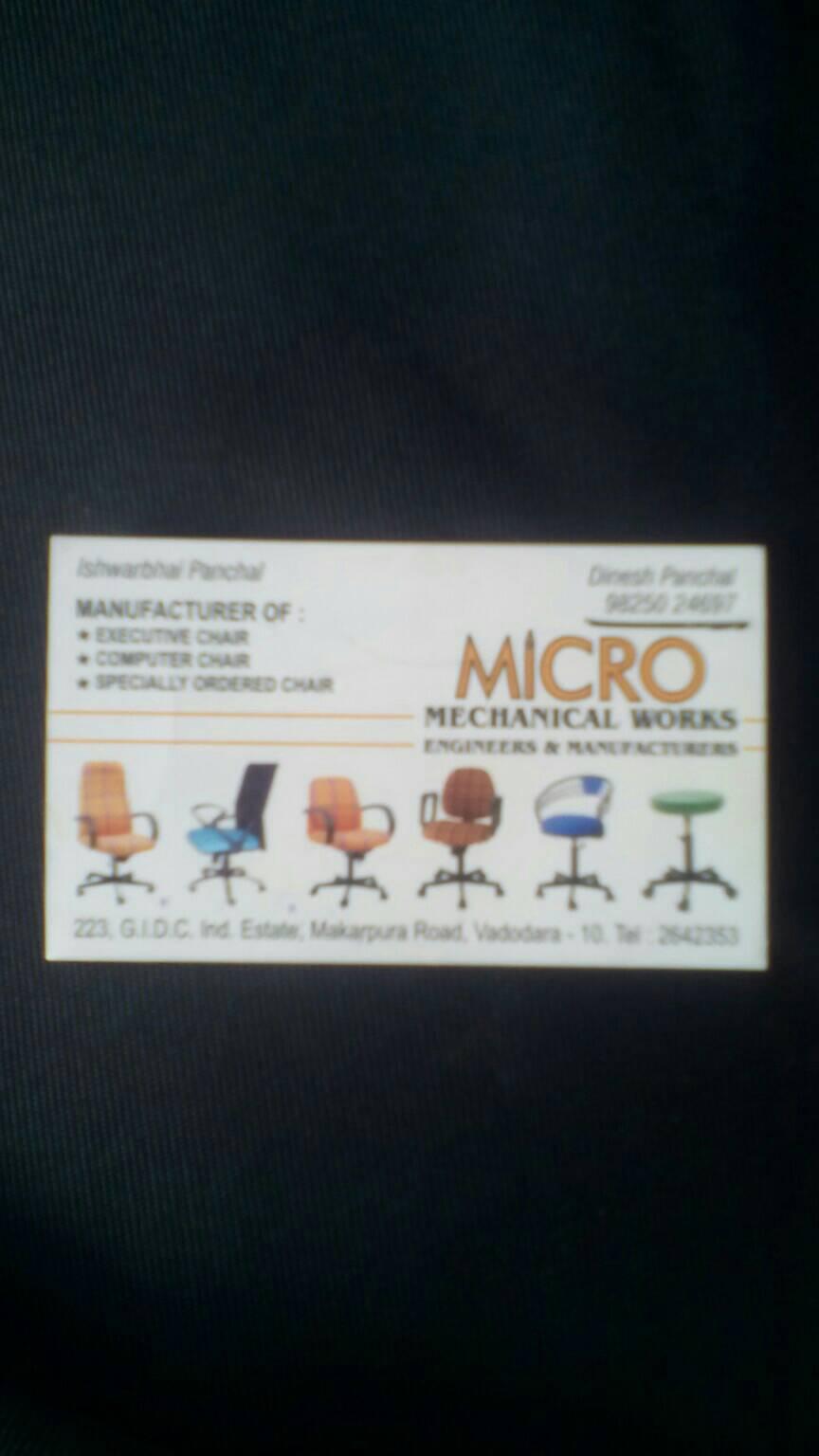 MICRO MECHANICAL WORKS