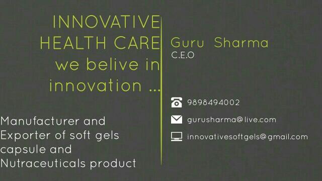 Innovative soft gels