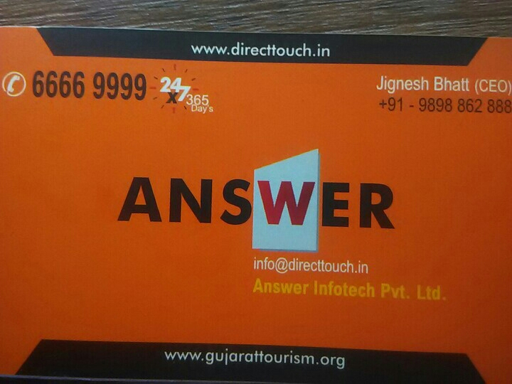 Answer Infotech I 9898862888