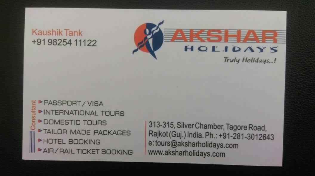 Akshar Holidays