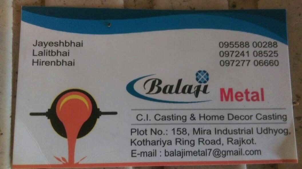 Balaji Metal Rajkot
