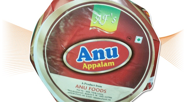 Anufoods - Appalam Manufacturer And Exporter In Madurai