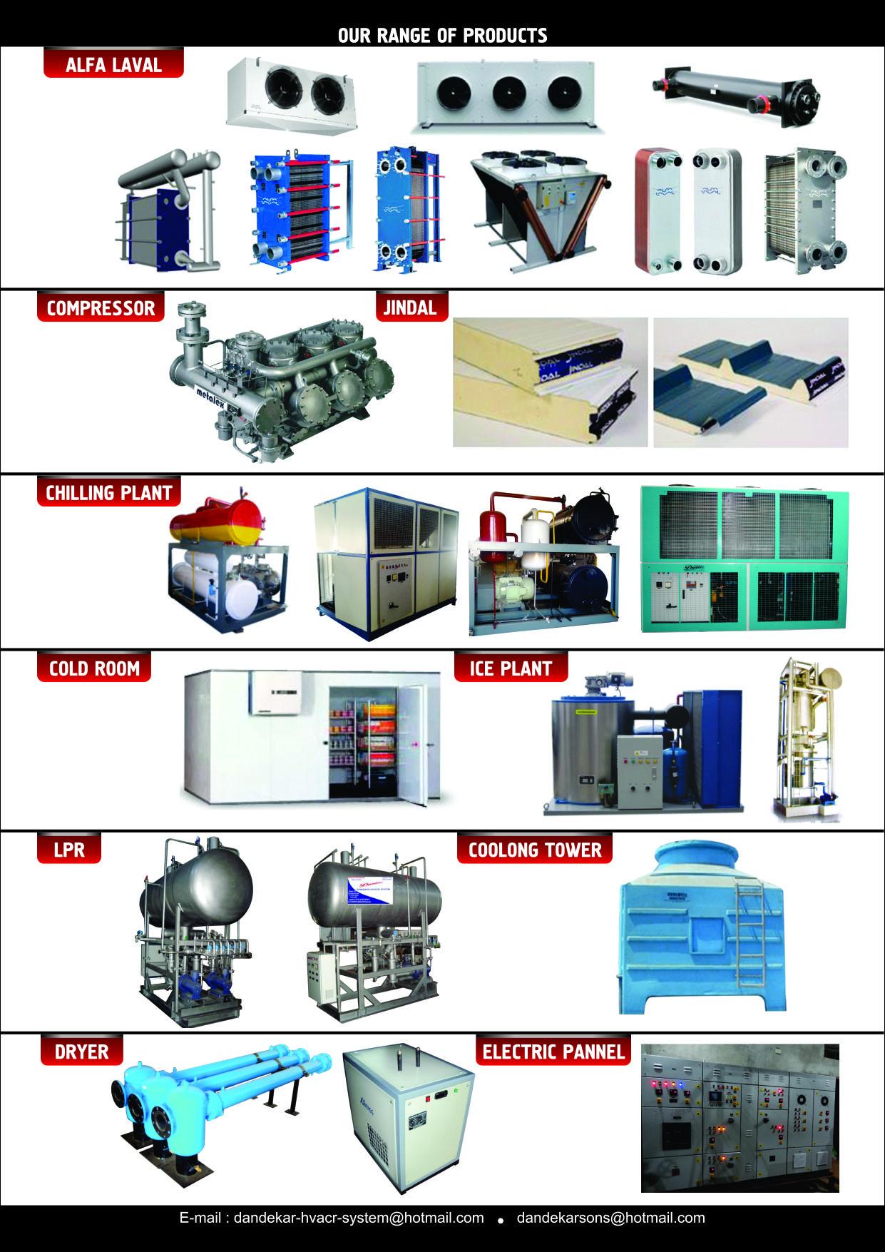 Dandekar HVACR System