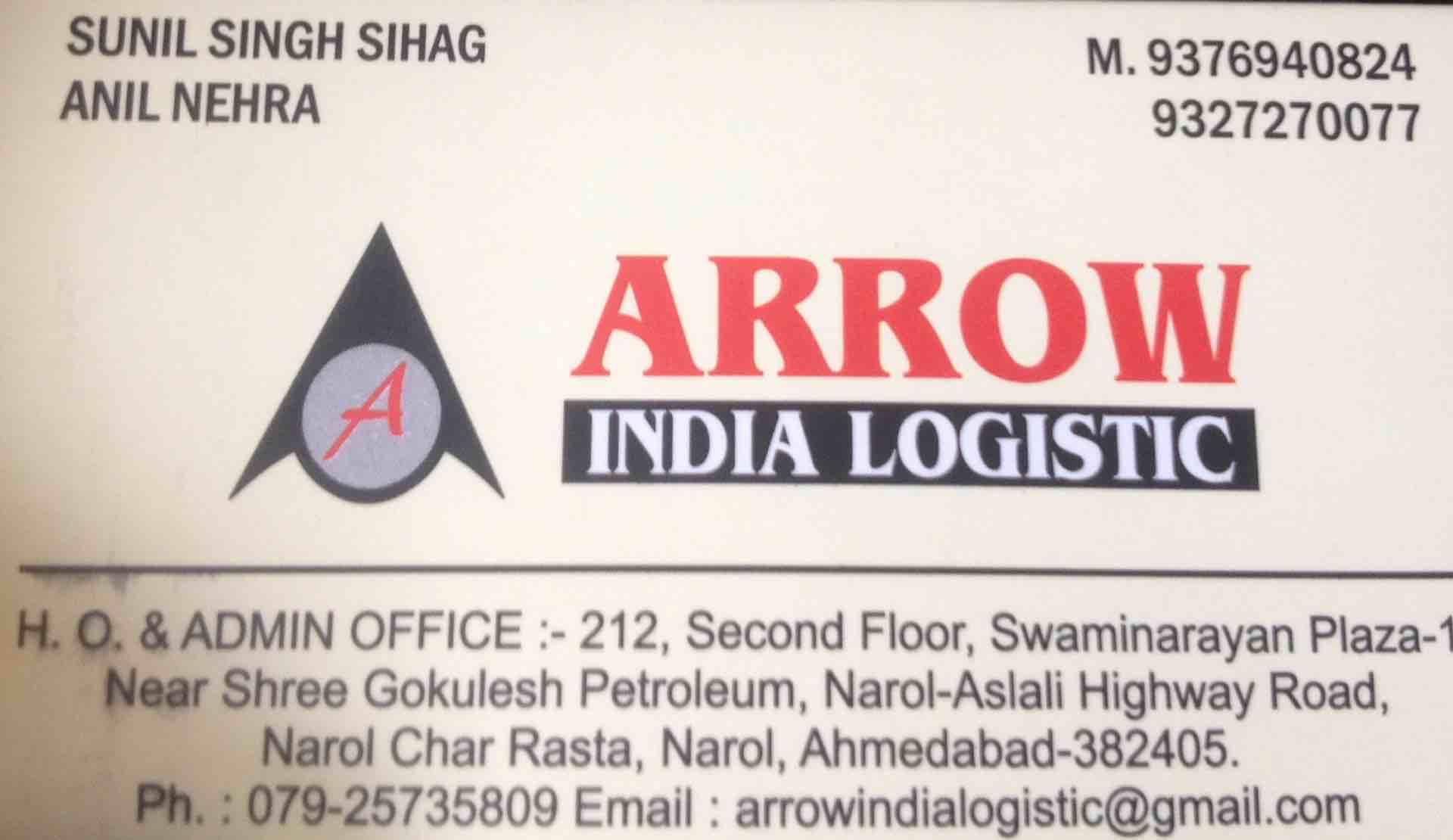 Arrow India Logistic