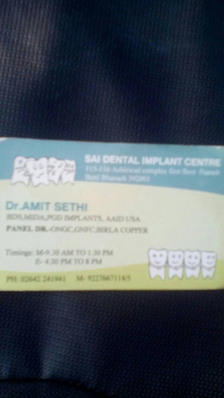 Sai Dental Implant Center