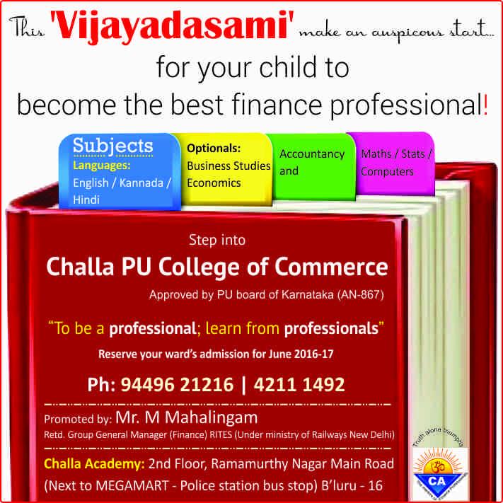 Challa Academy PU College
