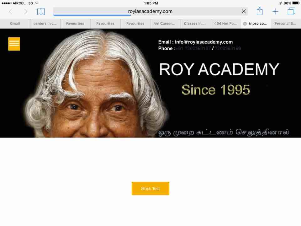 Roy Ias Academy 9500608007