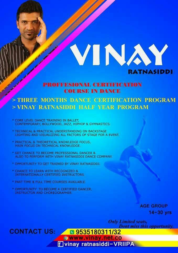 Vinay Ratnasiddi International Dance Classes
