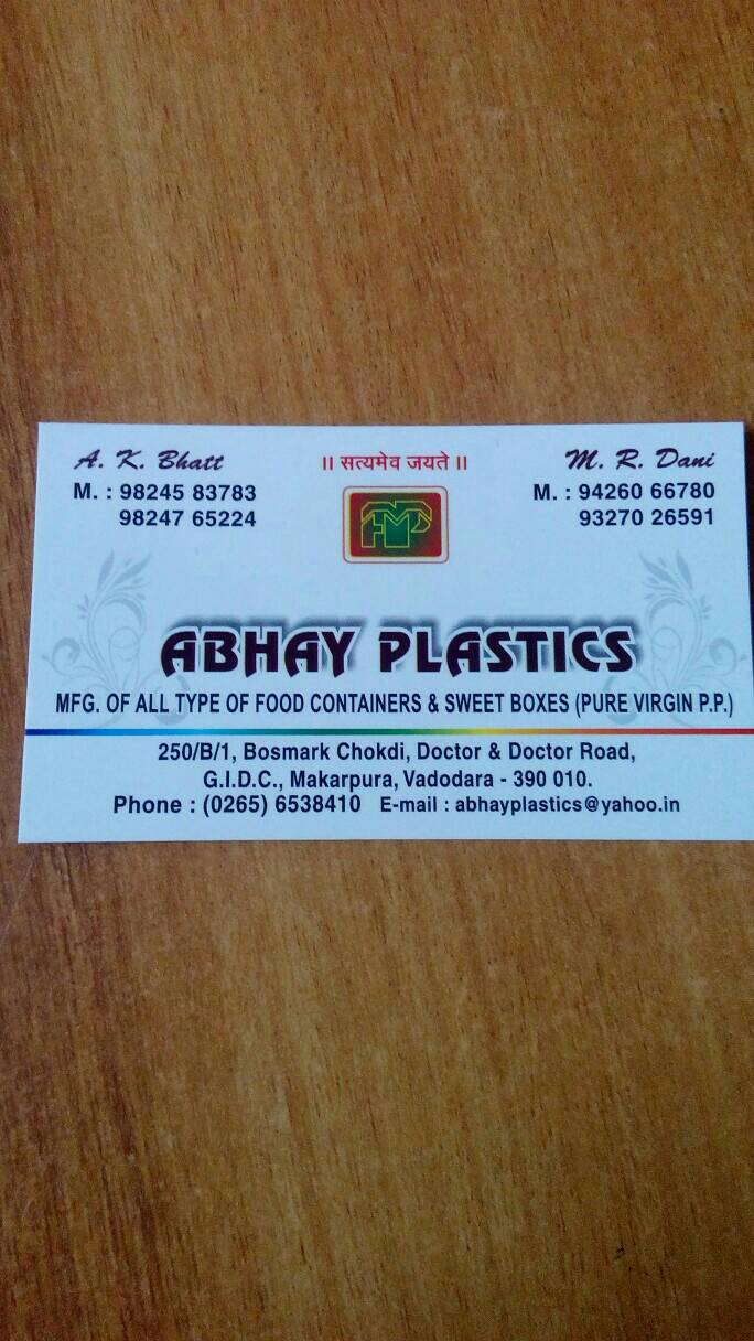 Abhay Plastics