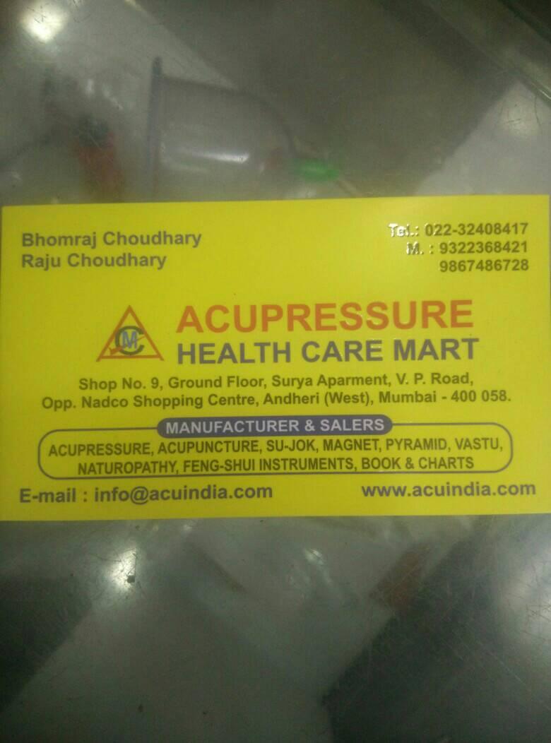 Acupressure Health Care Mart