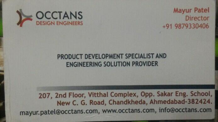 Occtans design Engineer