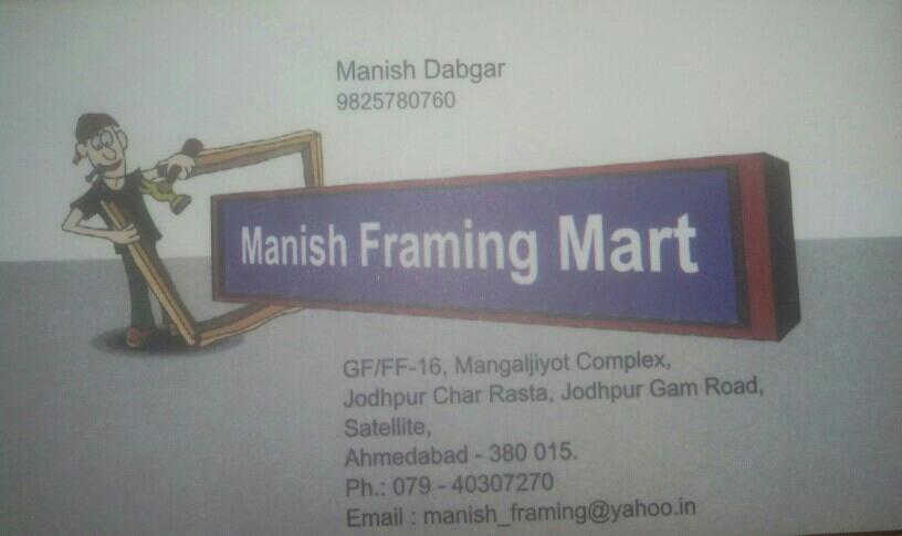 Manish Framing Mart