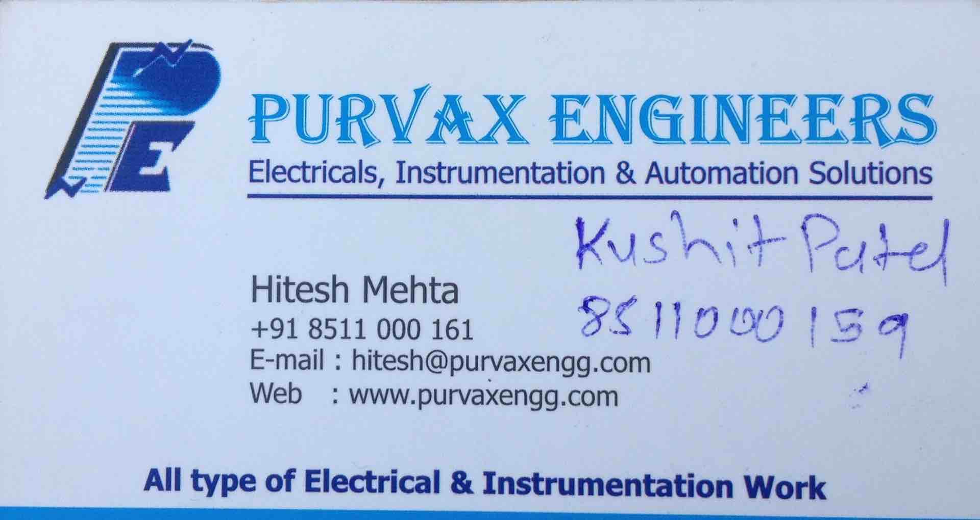 Purvax Engineers