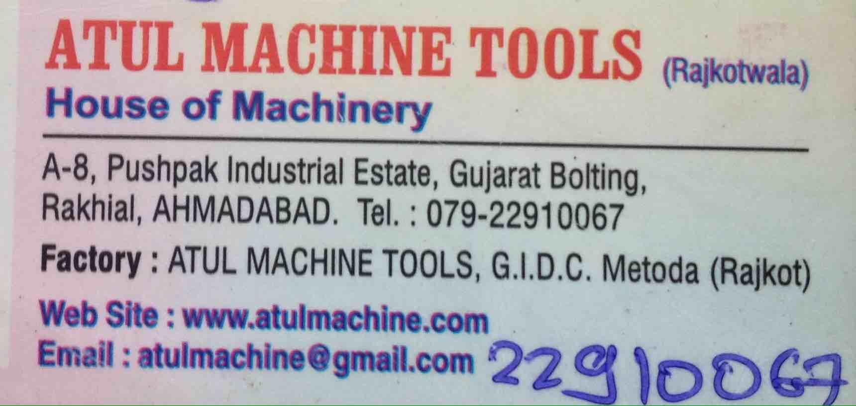 Atul Machine Tools
