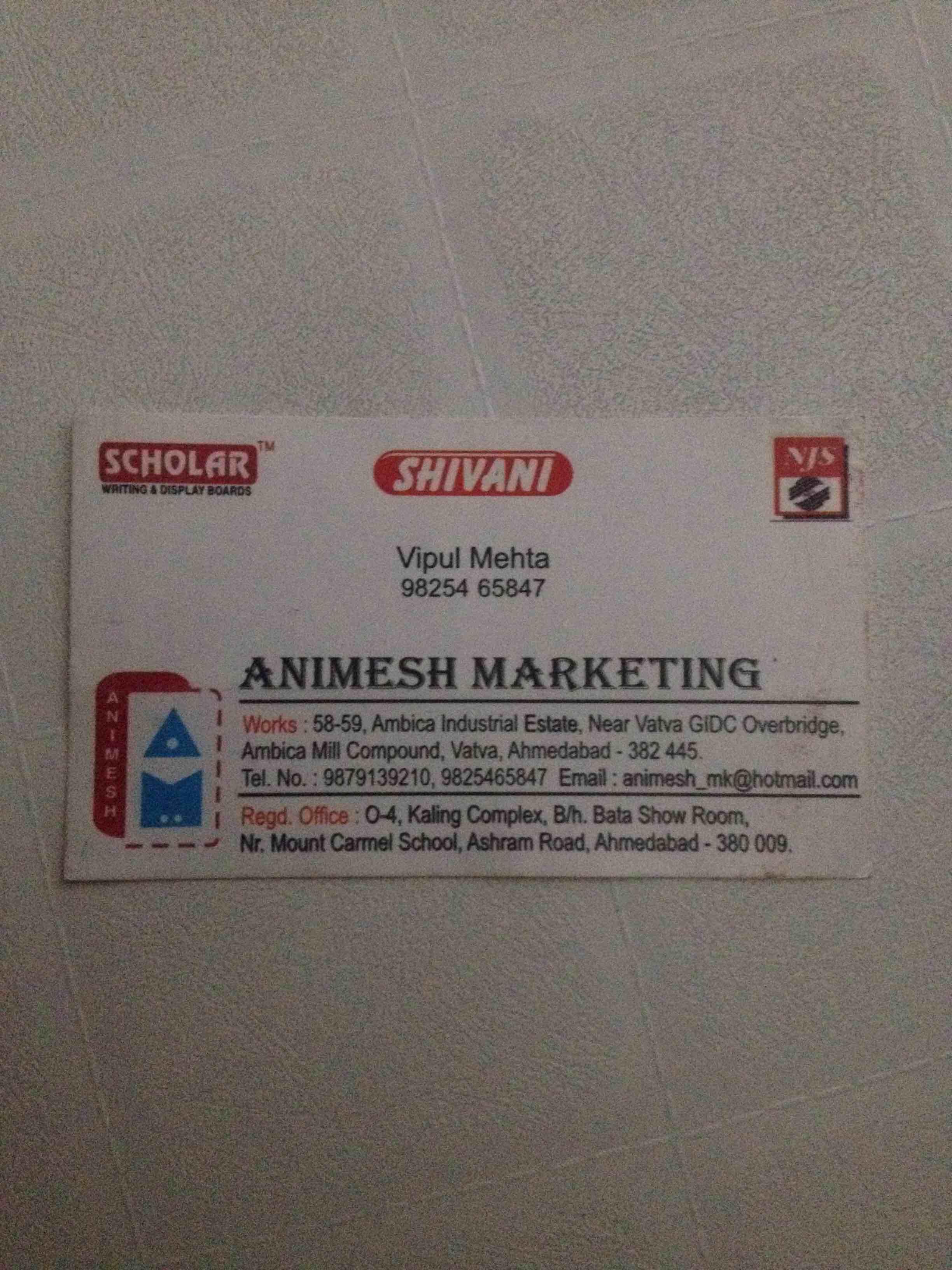Animesh marketing