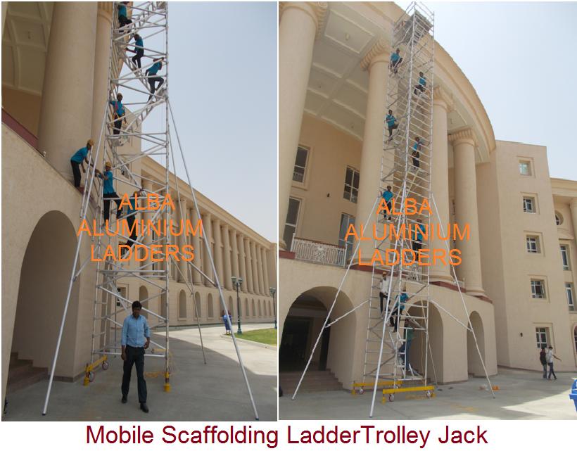 Alba Aluminium Ladders