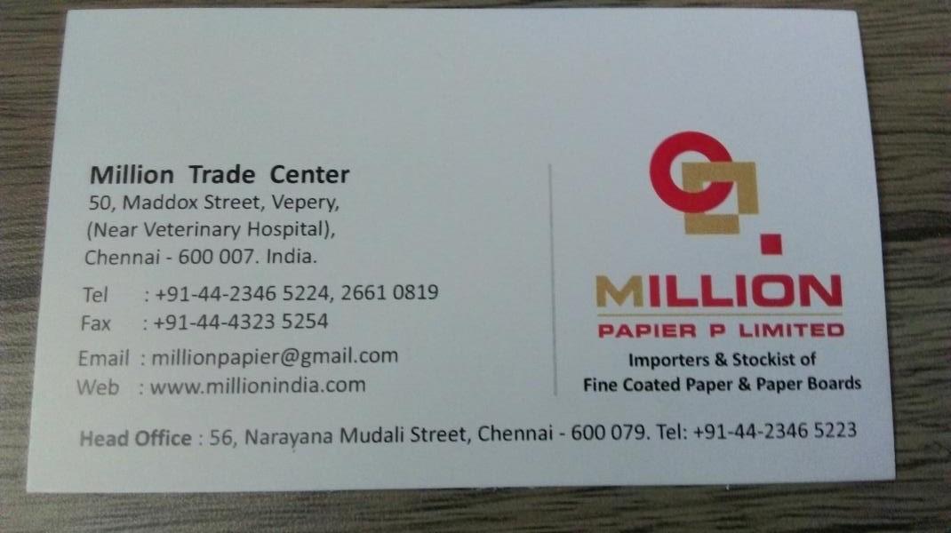 Million Papier Pvt Ltd