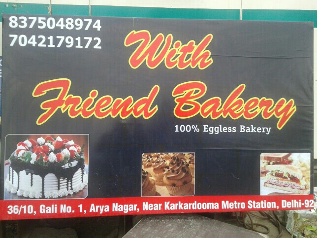 With friend bakery