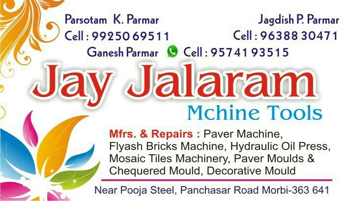 JAY JALARAM MACHINE TOOLS