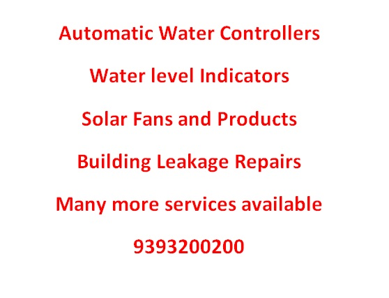 Sanghamitra | Automatic Water Level Controllers | Vizag
