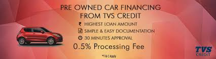 TVS Credit- Two Wheeler and Used car loans