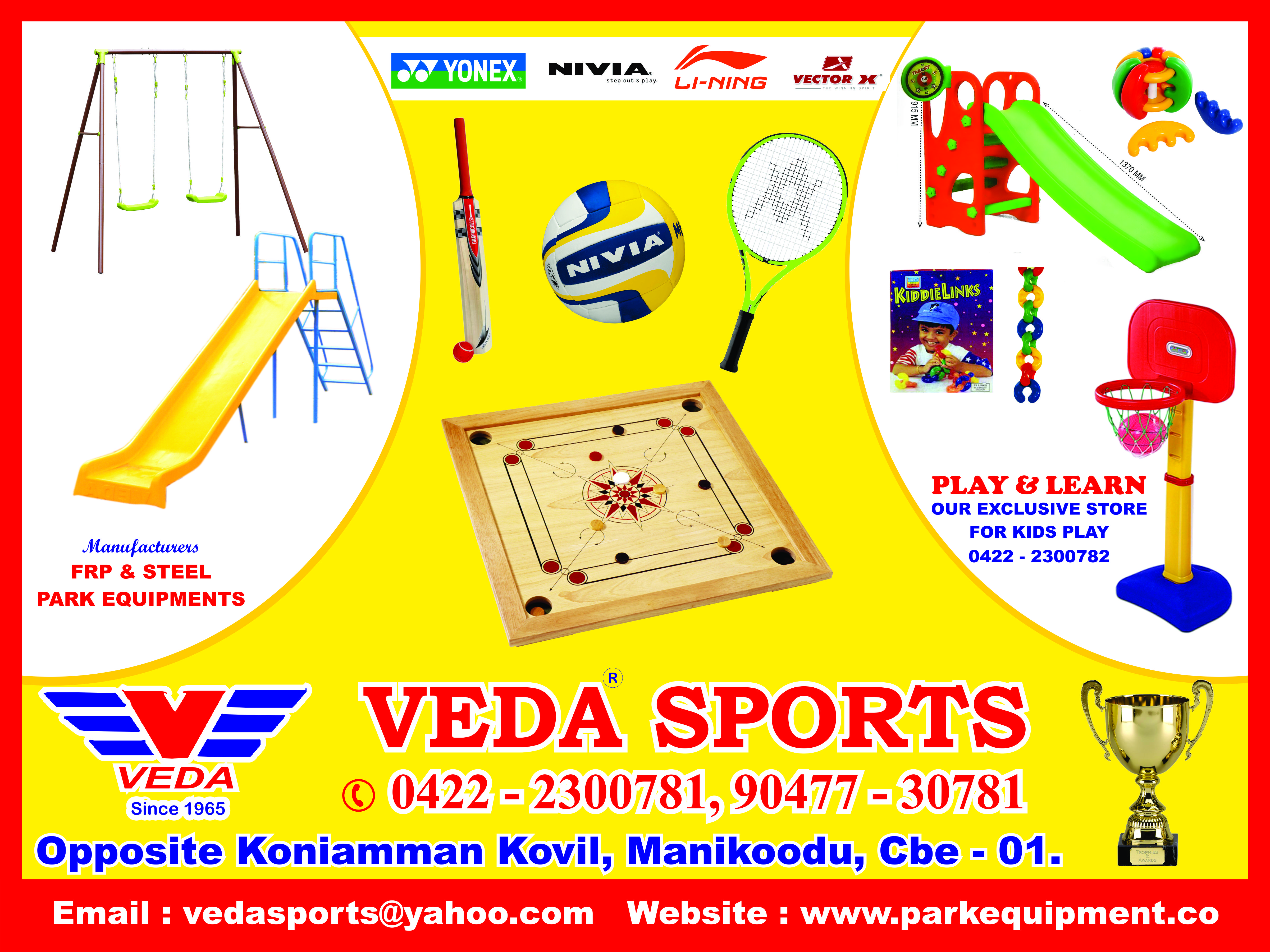 Veda Sports & Park equipments