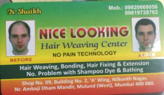 Nice Looking Hair Weaving Centre
