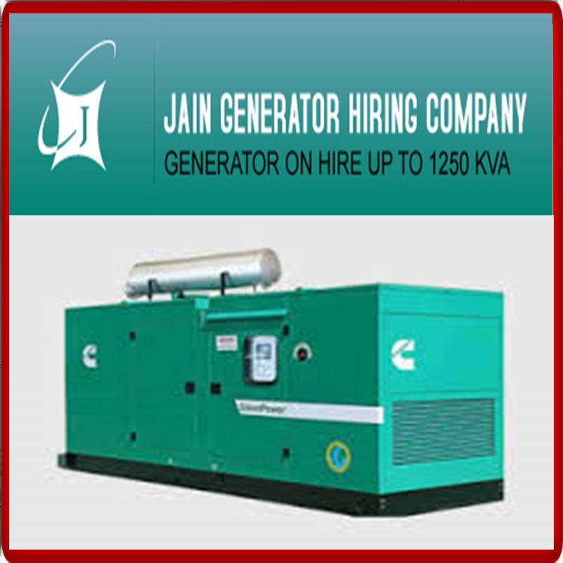 JAIN GENERATOR HIRING CO  +91 9810679523
