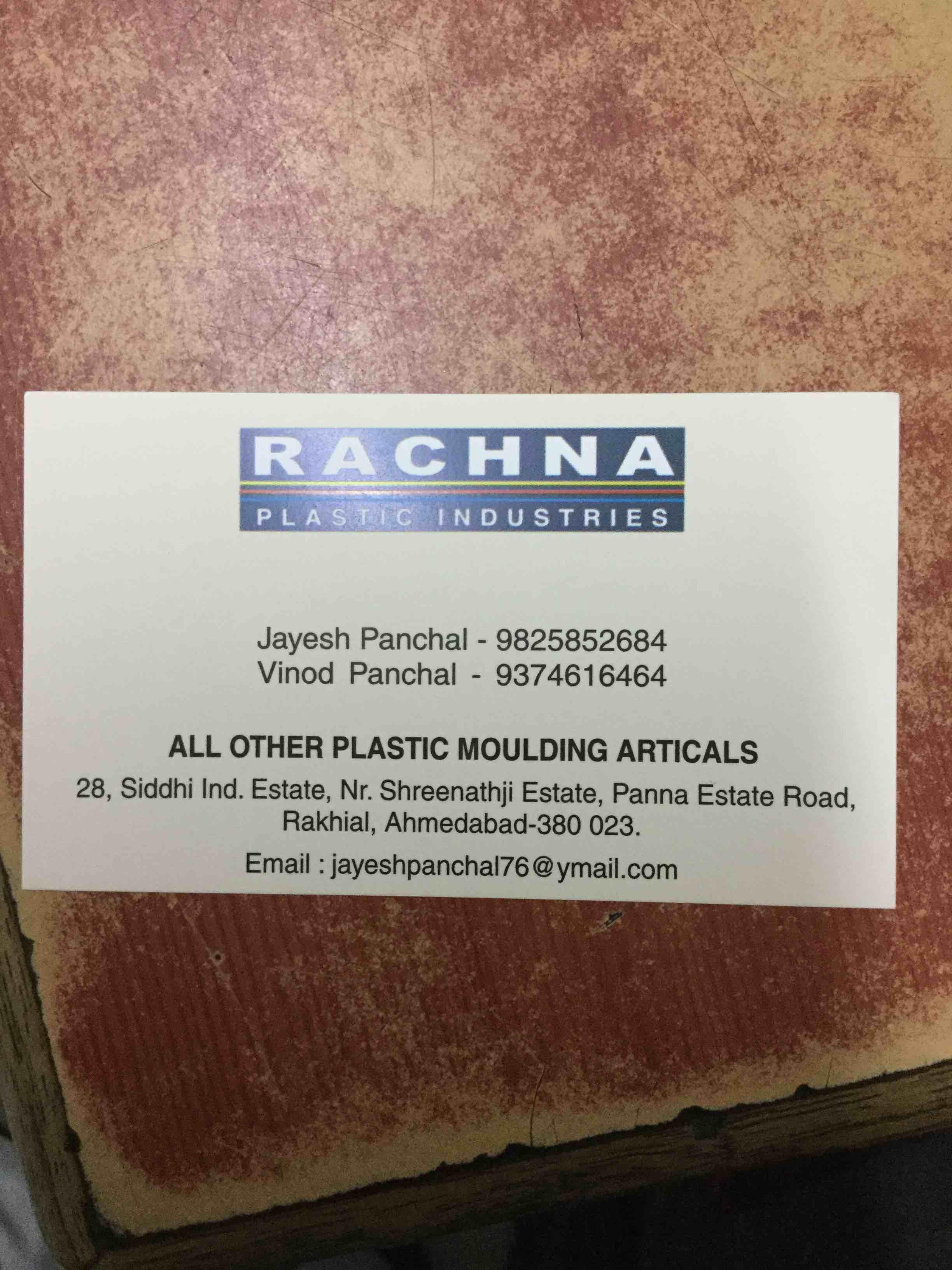 Rachna Plastic Industries