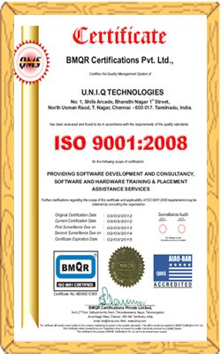Uniq Technologies Call Us :9791004050
