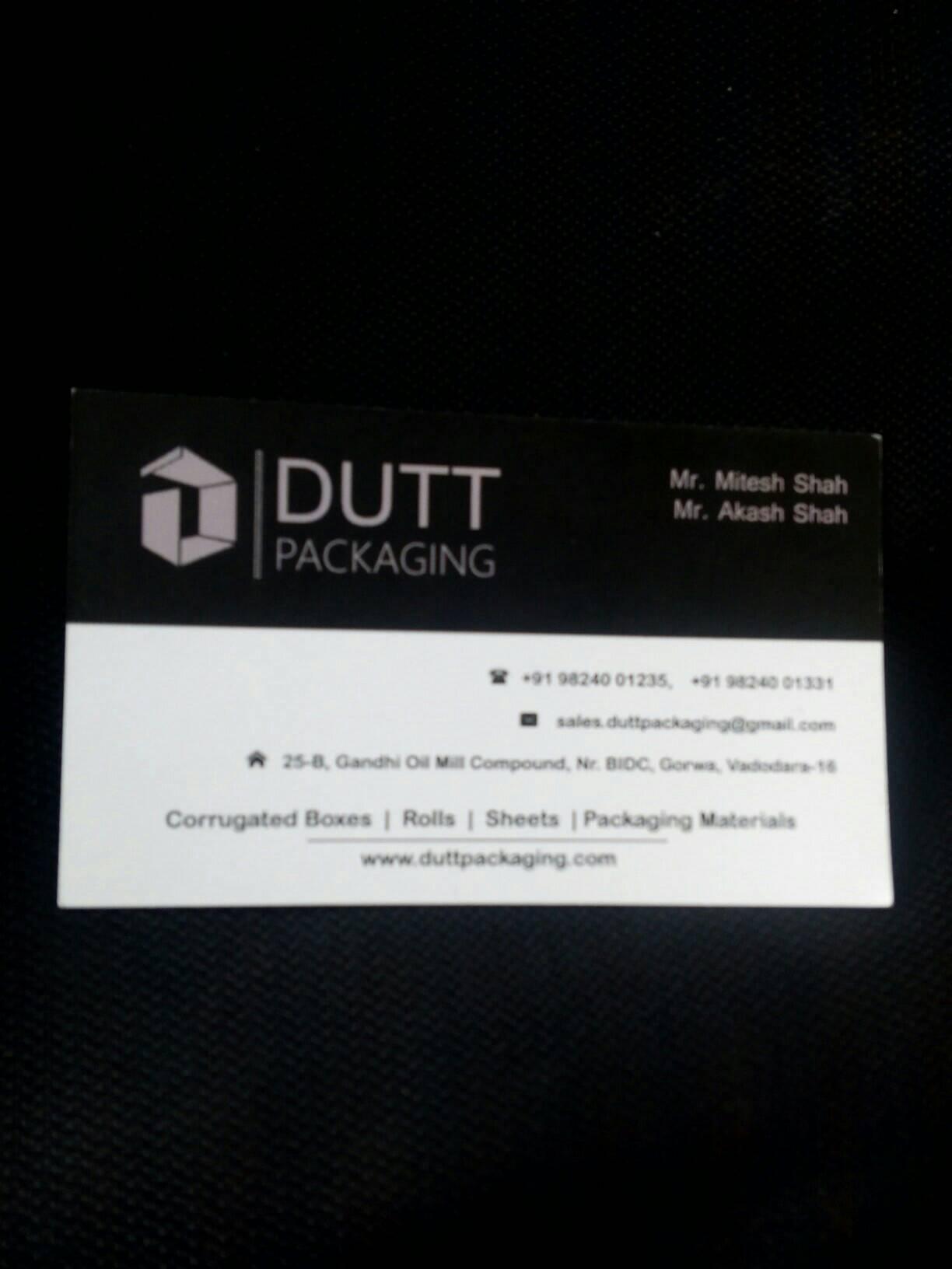 Dutt Packaging