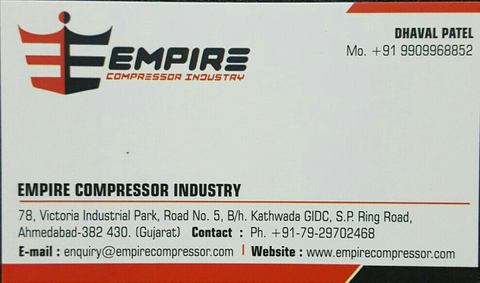 Empire Compressor Industry