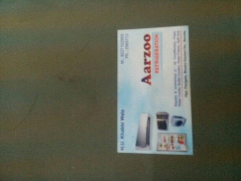 Aarzoo Refrigeration